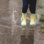 雨の日 湿度